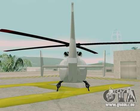 Maibatsu Frogger V1.0 pour GTA San Andreas vue intérieure