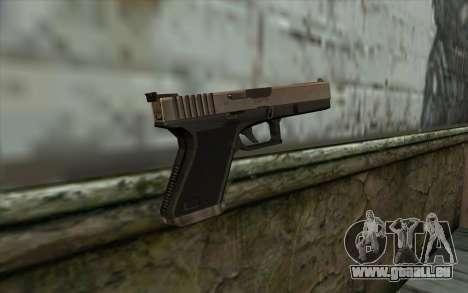 Glock from Half - Life Paranoia für GTA San Andreas zweiten Screenshot