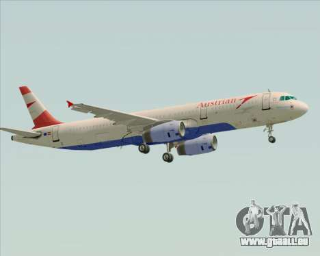 Airbus A321-200 Austrian Airlines pour GTA San Andreas vue de droite