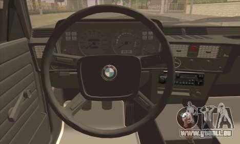 BMW 3 Series (E21) für GTA San Andreas zurück linke Ansicht