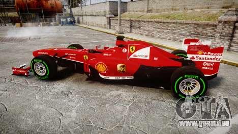 Ferrari F138 v2.0 [RIV] Alonso TIW für GTA 4 linke Ansicht