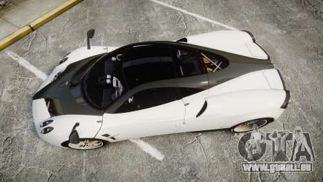 Pagani Huayra 2013 [RIV] Carbon für GTA 4 rechte Ansicht