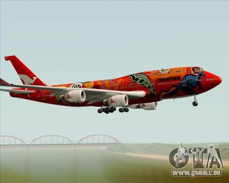 Boeing 747-400ER Qantas (Wunala Dreaming) für GTA San Andreas Seitenansicht