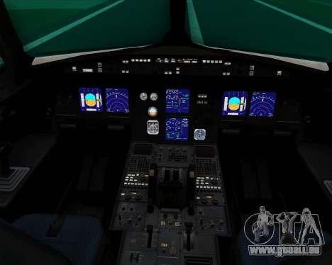 Airbus A321-200 Thomas Cook Airlines für GTA San Andreas Innen