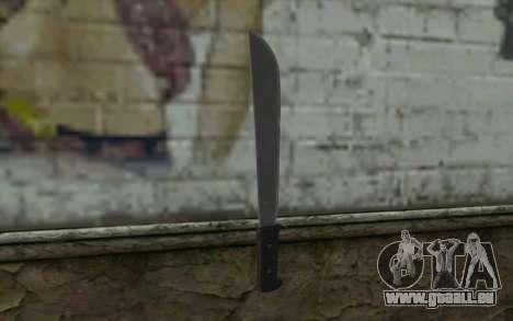 Machete (DayZ Standalone) v2 pour GTA San Andreas deuxième écran