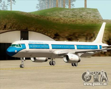 Airbus A321-200 American Pacific Airways für GTA San Andreas