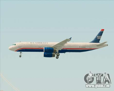 Airbus A321-200 US Airways pour GTA San Andreas roue