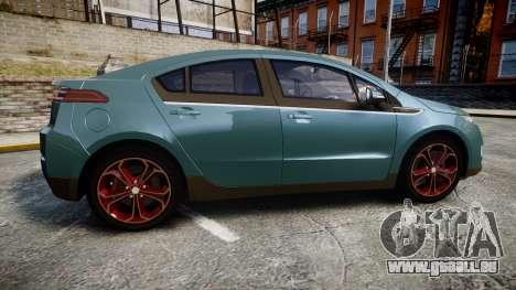 Chevrolet Volt 2011 v1.01 rims2 für GTA 4 linke Ansicht