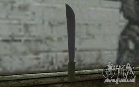 Machete (DayZ Standalone) v1 für GTA San Andreas zweiten Screenshot