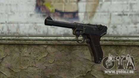 Luger P-08 pour GTA San Andreas