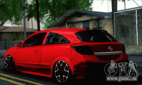 Opel Astra OPC für GTA San Andreas linke Ansicht