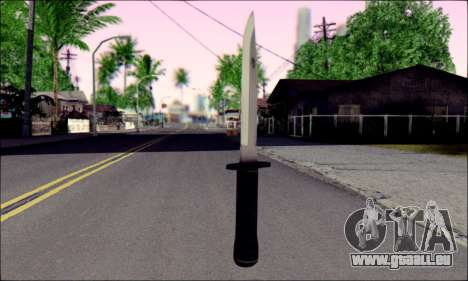 Knife from Death to Spies 3 pour GTA San Andreas