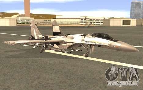 Sukhoi SU-35 BF3 pour GTA San Andreas