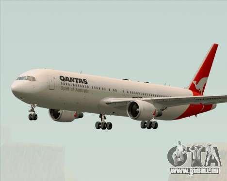 Boeing 767-300ER Qantas (Old Colors) pour GTA San Andreas vue de droite