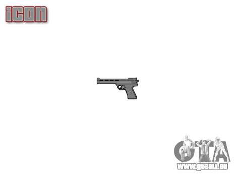 Der Revolver Nagant M1895 für GTA 4 dritte Screenshot