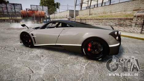 Pagani Huayra 2013 Carbon für GTA 4 linke Ansicht