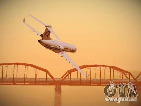 Bombardier CRJ-700 Horizon Air für GTA San Andreas Seitenansicht