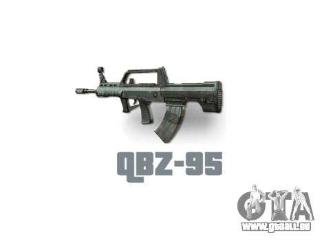 Maschine QBZ-95 icon3 für GTA 4 dritte Screenshot
