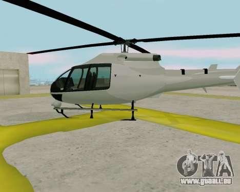 Maibatsu Frogger V1.0 für GTA San Andreas obere Ansicht
