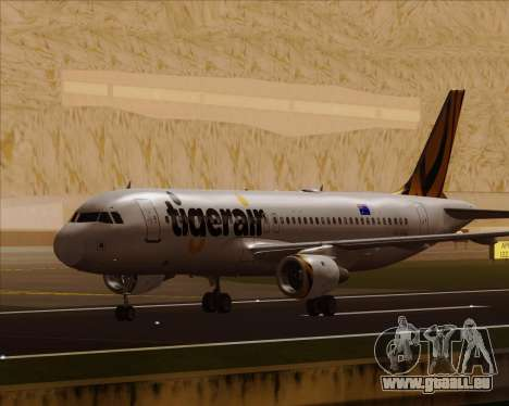 Airbus A320-200 Tigerair Australia für GTA San Andreas