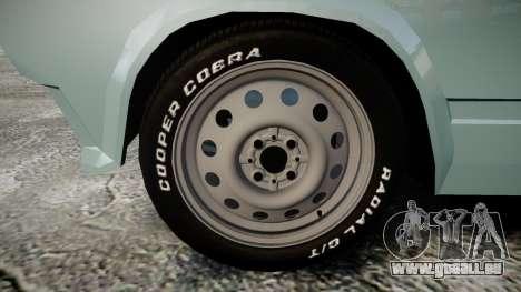 VAZ-2104 hooligan azerbaïdjanais style pour GTA 4 Vue arrière