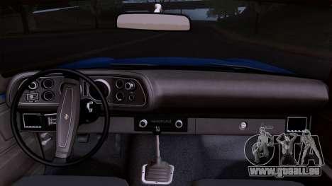 Chevrolet Camaro Z28 1970 (ImVehFt) für GTA San Andreas rechten Ansicht