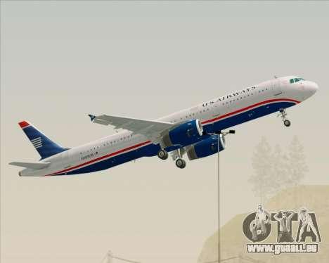 Airbus A321-200 US Airways für GTA San Andreas