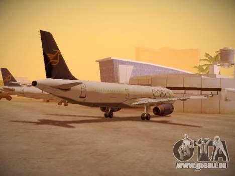 Airbus A321-232 Cyprus Airways pour GTA San Andreas vue de droite