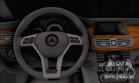 Mercedes-Benz CLS 63 für GTA San Andreas zurück linke Ansicht