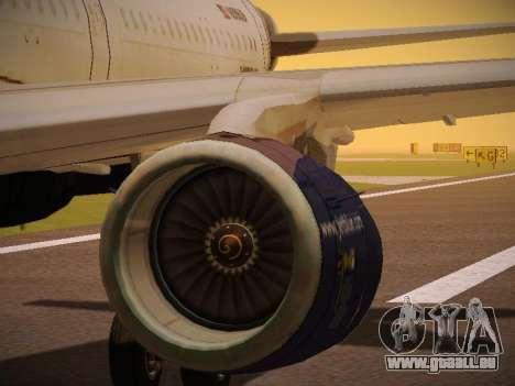 Airbus A321-232 jetBlue Batty Blue pour GTA San Andreas roue