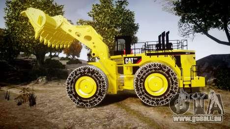 Caterpillar 994F für GTA 4 linke Ansicht