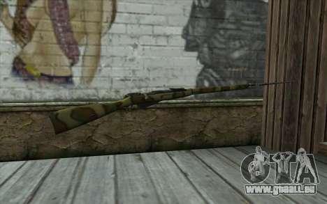 Die Gewehre Mosin-v12 für GTA San Andreas zweiten Screenshot