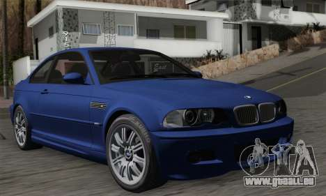 BMW E46 M3 pour GTA San Andreas