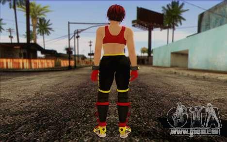 Mila 2Wave from Dead or Alive v8 pour GTA San Andreas deuxième écran