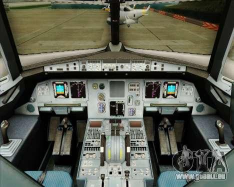 Airbus A320-200 Tigerair Australia pour GTA San Andreas salon