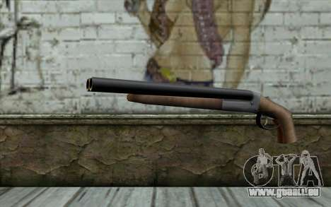 Sawn Off Shotgun from Beta Version für GTA San Andreas