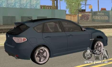 Subaru Impreza WRX STI 2008 für GTA San Andreas linke Ansicht