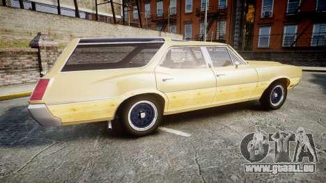 Oldsmobile Vista Cruiser 1972 Rims1 Tree5 pour GTA 4 est une gauche