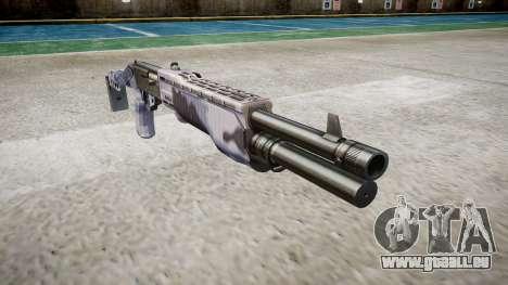 Ружье Franchi SPAS-12 Tigre Bleu pour GTA 4