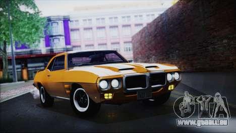 Pontiac Firebird Trans Am Coupe (2337) 1969 für GTA San Andreas rechten Ansicht