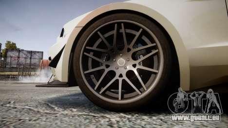 Ford Mustang GT 2014 Custom Kit PJ4 pour GTA 4 Vue arrière