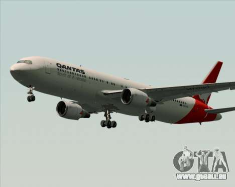 Boeing 767-300ER Qantas (Old Colors) pour GTA San Andreas roue