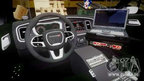 Dodge Charger 2015 City of Liberty [ELS] pour GTA 4 Vue arrière