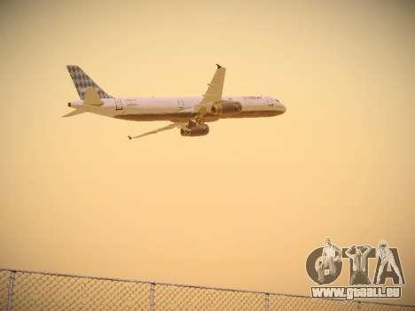 Airbus A321-232 jetBlue Airways pour GTA San Andreas vue de droite