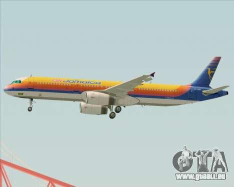 Airbus A321-200 Air Jamaica pour GTA San Andreas moteur