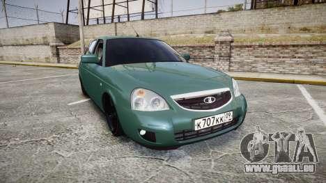 VAZ-Priora 2172 Fixe pour GTA 4