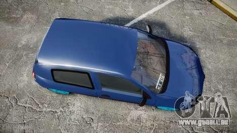 Renault Clio Mio 2014 für GTA 4 rechte Ansicht