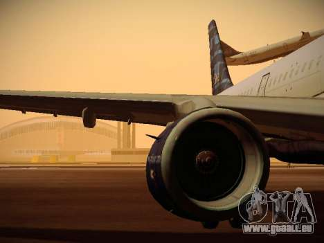 Airbus A321-232 jetBlue Whole Lotta Blue pour GTA San Andreas roue
