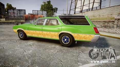 Oldsmobile Vista Cruiser 1972 Rims2 Tree6 für GTA 4 linke Ansicht
