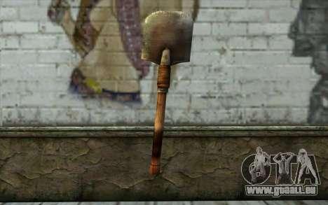 Sapeur Pelle (Battlefield: Vietnam) pour GTA San Andreas deuxième écran